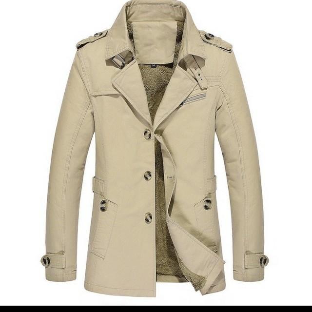 fca04f4070cd86 Men jacket style .Trench Coat men winter coat windbreaker