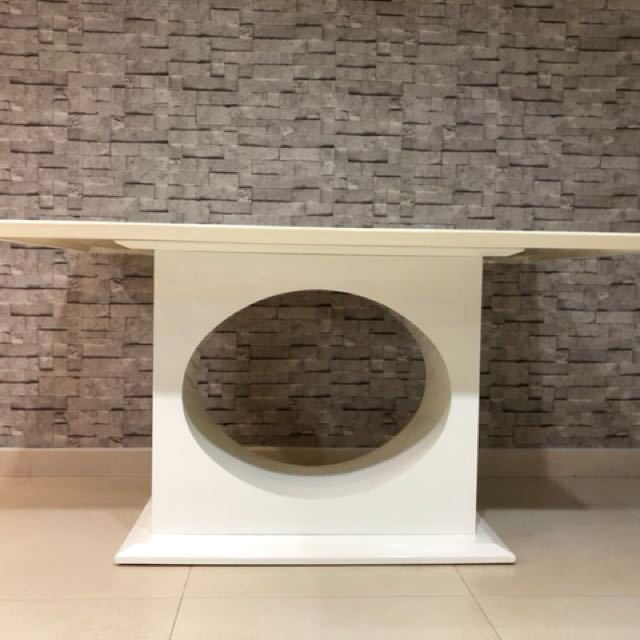 Used Marble Dining Table Furniture Tables Chairs On Carousell - Used marble dining table