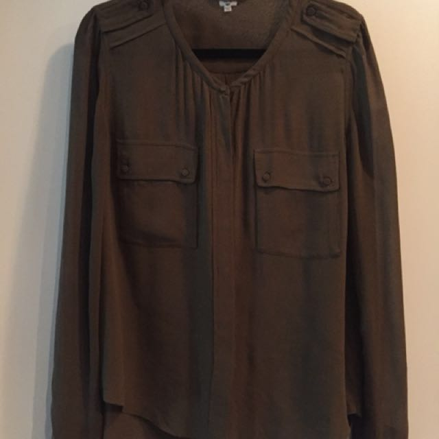 Wilfred Silk Blouse - Size L