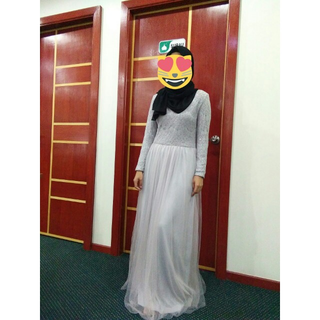 Zalia bridesmaid dress for rent fesyen muslimah for Rent wedding dress dc