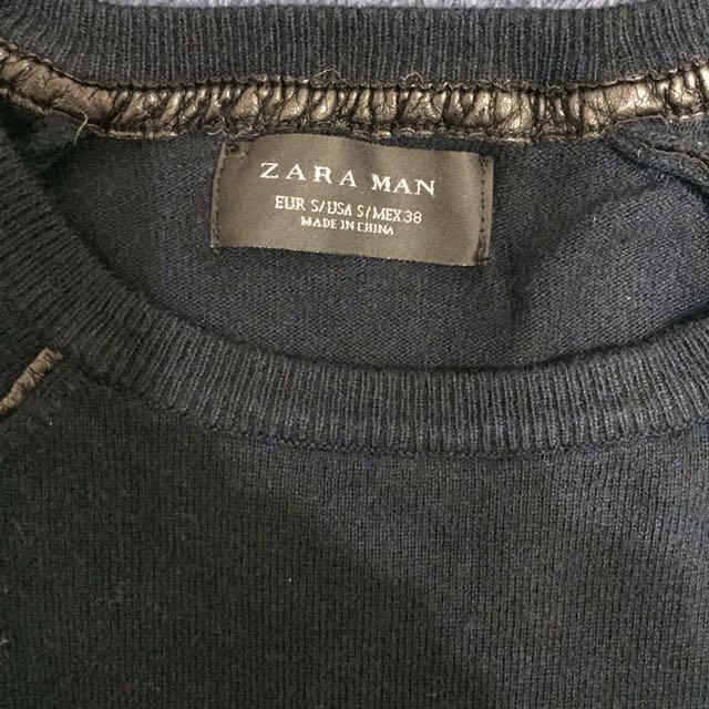 ZARA黑毛衣