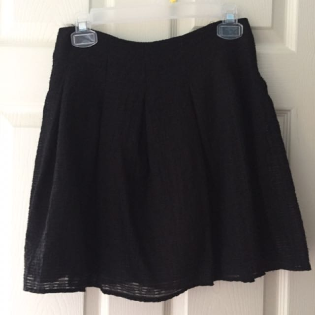 Zara black skirt size S