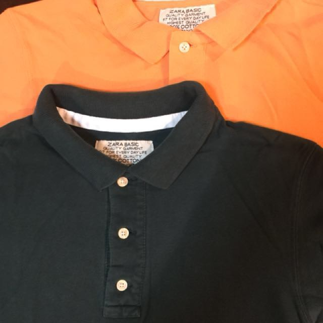 Zara Polo shirt 2 for 299.00 only