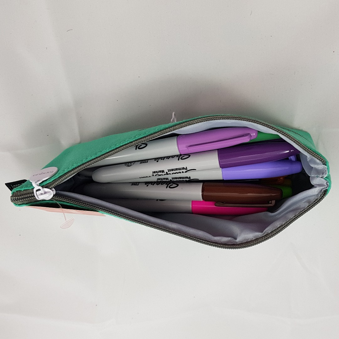 Zipper Mouth Monster Pencil Case (Red)