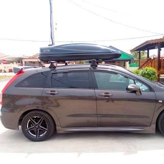 THULE aerodynamic car roof carrier : extra storage for your car