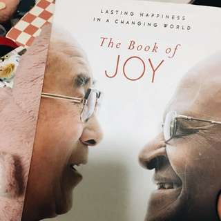 the book of joy ✨