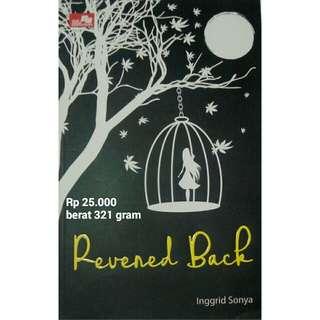 Novel Revered Back karya Inggrid Sonya