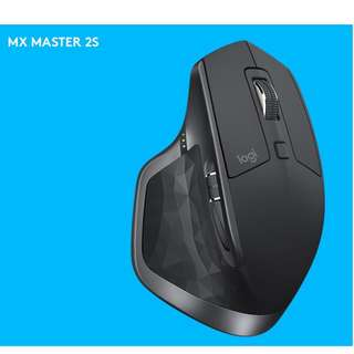 LOGITECH MX MASTER 2S 4000 dpi Wireless Mouse | Works on Any Surface even Glass | Fast Charge in 3 minutes |
