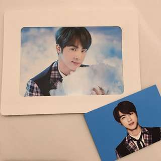 韓國BTS防彈少年團 Jin Official Photocards Wings Tour