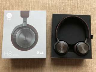 Price Reduced! B&O Bang & Olufsen Beoplay H8 wireless noise cancelling headphones (gray hazel)