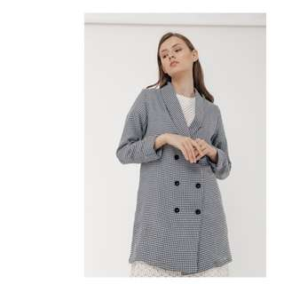 Label8store houndstooth outer