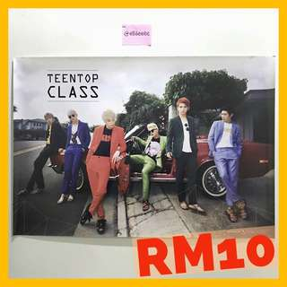 TEEN TOP OFFICIAL ALBUM POSTER