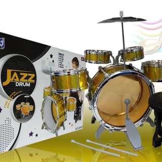Kids Jazz Drum Set
