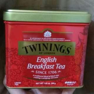 TwiningsEnglish Breakfast loose Tea 川寧英國早餐茶散茶