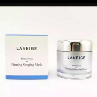 Laneige Firming Sleeping Mask Time freeze brand new in box