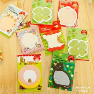 Fusen Sticky note/ Post It Notes