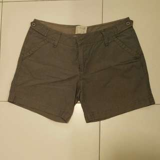 Pinstripe grey shorts