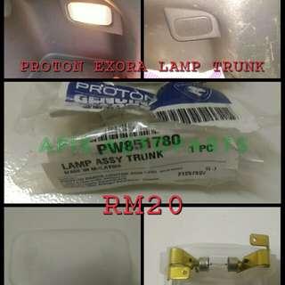 PROTON EXORA LAMP TRUNK