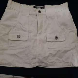 Skirt with inner short