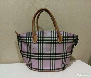 Tote Bag Burberry's Blue Label