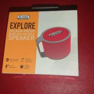 X-Mini Explore Red Speaker