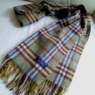100%Cashmere Burberry Vintage Scarf 圍巾 頸巾