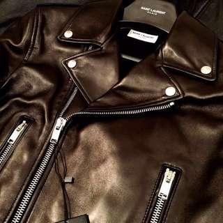 Saint Laurent Paris slp biker jacket size 46 small
