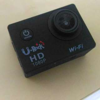 uRock Action Camera with WIFI (1080P) - BLACK