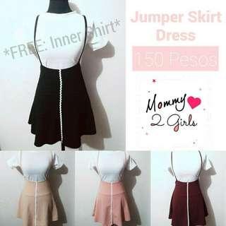 *LOWEST PRICE* Jumper Skirt Dress Free Inner