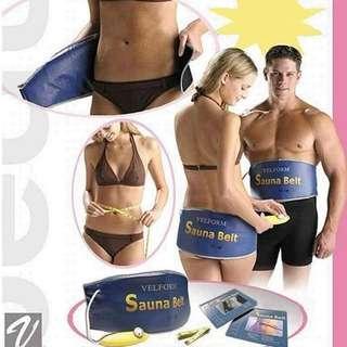 Electric Body Tummy Waist Slimming Sauna Belt Quick Weight Loss Designer Slimming Belt