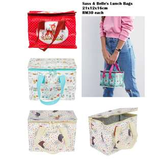 Sass & Belle Lunch Bags from UK