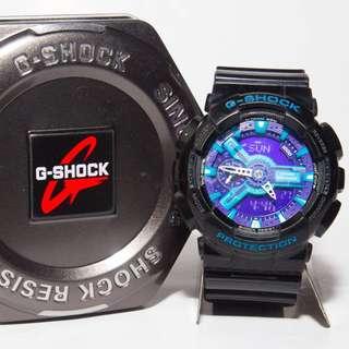 手錶 G shock GA-110HC-1A  紫羅蘭