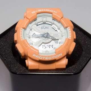 手錶 G shock GA-110SG-4ADR 粉橘