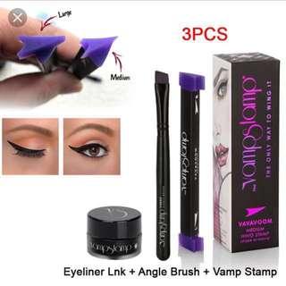 💄🆕 Winged Eyeliner Stencil Vavavoom Vamp Stamp