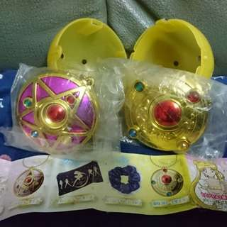 Sailor moon變身器鏡吊飾 #滄海遺珠