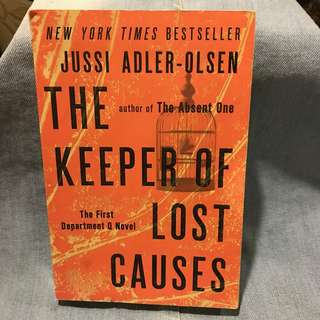 The Keeper of Lost Causes by Jussi Adler Olsen