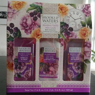 Bath and Body Gift set by Brooks and Waters