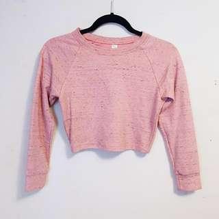 AA Cropped Sweatshirt