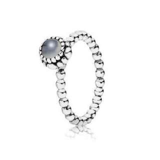 Pandora June birthstone Ring