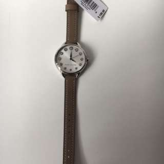 Marc jacob leather strap watch