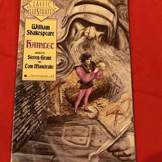 Classics Illustrated Comics William Shakespeare Hamlet first edition 1990