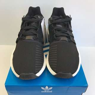 Adidas EQT Support 93 17 Milled Leather Core Black Size Mens US 9.5 Brand New