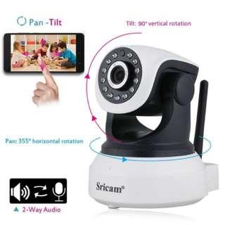 CCTV Wireless IP Camera - Night Vision, Motion Detection, 2 way Audio