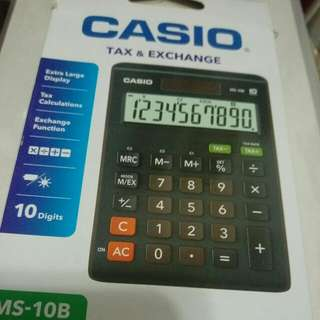 Casio計數機 MS-10B