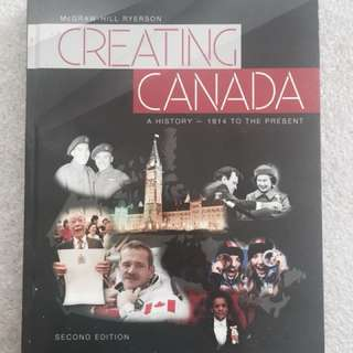 Creating Canada (second edition)