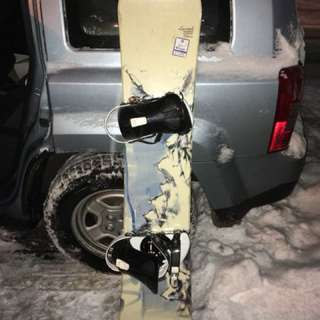 Limited Snowboard 144 cm w/ Sims Bindings