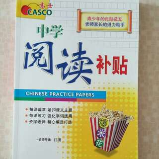 FIXED PRICE📬Brand New Casco Secondary Chinese Practice Papers Assessment Book