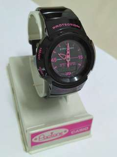 Gshock Mini Original GMN50 Rare Black Pink