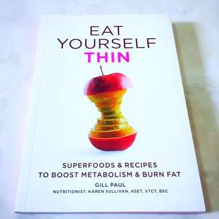 EAT YOURSELF THIN BOOK