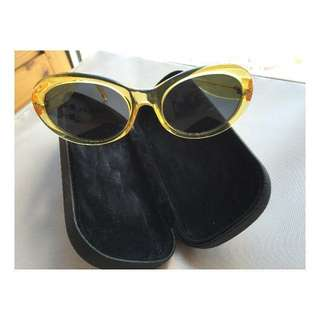 Fendi Sunglasses Authentic Yellow